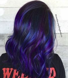 BlueHair #ONFLEEK #HAIRTRENDS