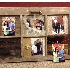 Window frame/picture frame.... my mothers day present (: he IS the BEST.. he put pics of me and my baby in it.   <3 him.