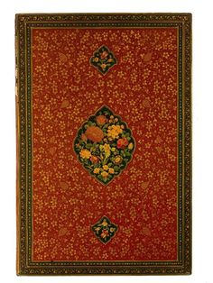 Iranian Decorative Bookbinding. Gorgeous!