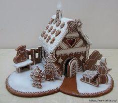 Рождественские пряники. Красивые идеи (8) (519x452, 126Kb)