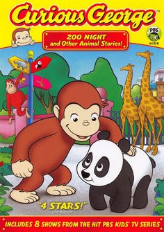 Jeff Bennett & Frank Welker - Curious George - Zoo Night & Other Animal Stories Pbs Kids, Kids Tv, Frank Welker, New Tv Series, Movies To Watch Online, Watch Movies, Curious George