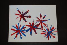 Pinkie for Pink: 4th of July Kid's Art Projects