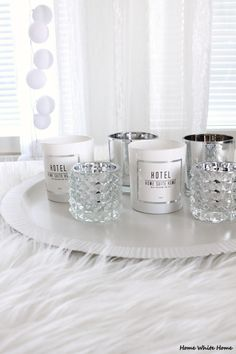 H&M Home Candles - Home White Home