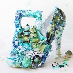 Altered shoe by Tetiana Komarova