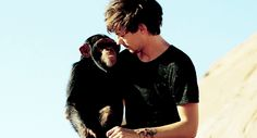 louis and the chimpanzee