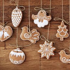 Biscuits in Design of Christmas Items, All Seem Delighted and Happy, Mood is Happy Enough – Creative Christmas Wallpaper Hanging Christmas Tree, Christmas Items, Christmas Tree Decorations, Christmas Tree Ornaments, Christmas Crafts, Christmas Christmas, Vegan Christmas, Swedish Christmas, Clay Ornaments