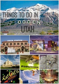 Things to do in historic Ogden, Utah.