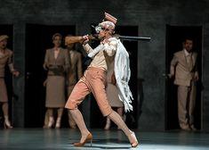 Norwegian National Ballet - Clair Constant in Alexander Ekman's A Swan Lake. Photo: Emma Kauldhar