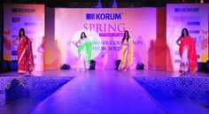 Models strike a pose, as they adorn our Spring Summer Collection '15 at the Korum Mall Fashion Show