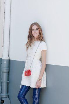 Chiara Ferragni by Claire Guillon - CGstreetstyle