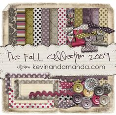 The Fall Collection Kit- A Digital Scrapbooking Freebie!
