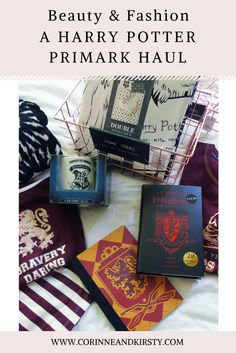 Wanna have a look at Primark's Harry Potter range? Head over to the blog!