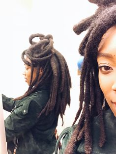 Roots natty roots ♥️ Freeform Dreads, Curly Hair Styles, Natural Hair Styles, Dreads Girl, Dreadlocks, Dreadlock Hairstyles, Natural Hair Inspiration, African American Hairstyles, Hair Today