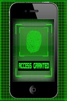 fingerprint scan app