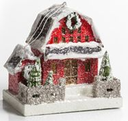 Vintage Christmas Houses - Old Fashioned Christmas Village