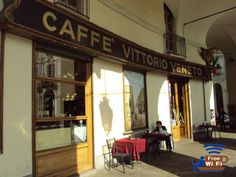 Il Caffè Vittorio Veneto,  Turin, Italy