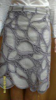 Fabulous Crochet a Little Black Crochet Dress Ideas. Georgeous Crochet a Little Black Crochet Dress Ideas. Crochet Motifs, Freeform Crochet, Irish Crochet, Crochet Skirts, Crochet Clothes, Pull Crochet, Knit Crochet, Artisanats Denim, Crochet Projects