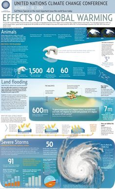 CLIMATE CHANGE/GLOBAL WARMING Infographic