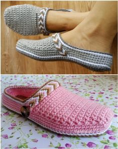 Everyone is going mad for this crochet clog slipper pattern and you will too. These stunning ladies slippers known as Tribal Clogs are super comfy too. Crochet Elephant Pattern, Crochet Shoes Pattern, Baby Shoes Pattern, Crochet Boots, Crochet Baby Shoes, Shoe Pattern, Crochet Slippers, Crochet Patterns, Unique Crochet