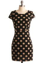 You can never have too many polka dotted dresses