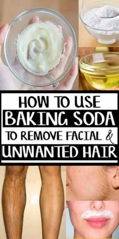 Remove Unwanted Hair In 3 Minutes Using This Natural Baking Soda Recipe! & She Made by Grace The post Remove Unwanted Hair In 3 Minutes Using This Natural Baking Soda Recipe! & She Made by Grace appeared first on SoQuotes. Chin Hair Removal, Upper Lip Hair Removal, Natural Hair Removal, Hair Removal Diy, Hair Removal Remedies, Natural Hair Styles, Hair Removal Methods, At Home Hair Removal, Homemade Hair Removal