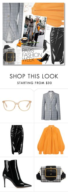 """""""Pack and Go: Paris Fashion Week"""" by ksenia-yo-new ❤ liked on Polyvore featuring Chloé, TIBI, Boohoo, Gianvito Rossi, contest, polyvoreeditorial, parisfashionweek and Packandgo"""