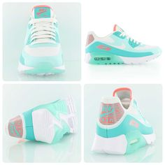 Nike Womens Air Max 90 Ultra BR white/light retro/lava glow