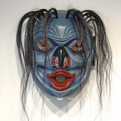 Pugmis • Wild Man of the Deep Mask by Tom D. Hunt, Kwakwaka'wakw artist (W60404)