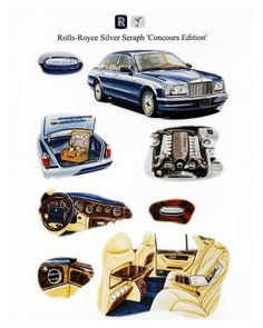 2000 Rolls Royce Silver Seraph Concours Edition Factory Phot