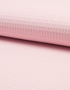 Waffle Fabric Palest Pink - Main - 104708  100% #Cotton #Waffle #Fabric – Natural. Soft yet hard wearing and breathable. Ideal for #quilt #backing.  Currently hugely popular for household textiles but also an excellent dyeing fabric.  Superb 60″ width makes it perfect for larger projects.  #Sewing #Sewcialits #SewYourOwn #Fabrics #FabricShop #FabricsOnline