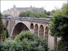 Люксембург. Мост Адольфа