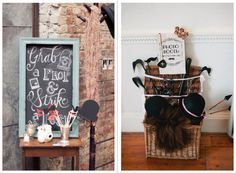 De Bruiloftblogger  Zoveel plezier met de Photobooth & Props •