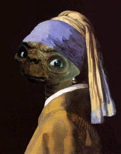 """Parody of """"The Girl with the Pearl Earring"""""""