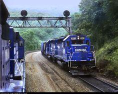 RailPictures.Net Photo: CR 6291 Conrail EMD SD40 at Altoona, Pennsylvania by Ron Flanary