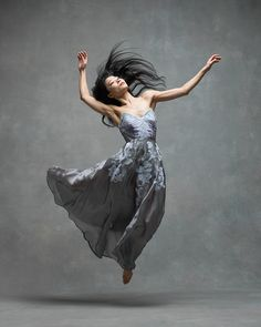 Xin Ying, Soloist, Martha Graham Dance Company.  Photographed by Ken Browar and Deborah Ory for NYC Dance Project