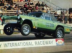 """morbidrodz: """"More vintage cars, hot rods, and kustoms """" Chevy Ssr, Ford Classic Cars, Vintage Race Car, Drag Cars, American Muscle Cars, Car Humor, Drag Racing, Auto Racing, Hot Cars"""
