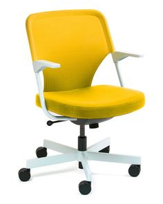Yellow 5th Avenue office Chair