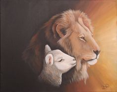 Google Image Result for http://fc07.deviantart.net/fs21/f/2007/243/1/7/Lion_and_the_Lamb_by_Rhed_Dawg.jpg