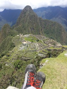 """""""I took the shoes on the four-day Inca trail trek and they were awesome.  There were a couple of times (torrential downpours and freezing temps) that I had to switch into heavier footwear but otherwise, they performed great and my feet were very happy.  I have attached a couple of photos from when we got to Machu Picchu.  I use these for pretty much everything -- running, hiking, crossfit, casual wear, etc.  Keep up the great work."""" -J.P."""