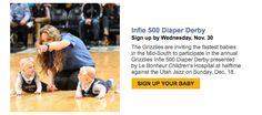 Diaper Derby  http://www.nba.com/grizzlies/news/2016-infie-500-161108