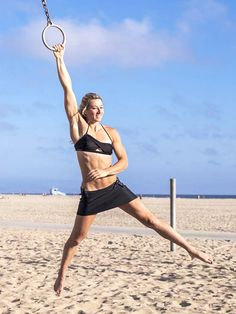 A Stuntwoman Reveals Her Fascinating Workout Regimen via @ByrdieBeauty