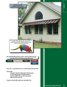 Awning idea for back windows