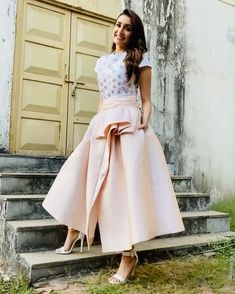 can find Shraddha kapoor and more on our website. Shraddha Kapoor Cute, Sraddha Kapoor, College Outfits, Beautiful Actresses, Bollywood Actress, Indian Actresses, Frocks, My Girl, Midi Skirt