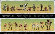 Linea di giocattoli horror della Kenner ispirati ad Aliens di James Cameron