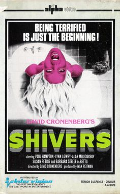 VHS NINJA / Shivers (1975) by David Cronenberg.