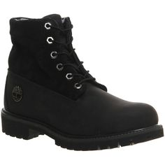 Timberland Roll Top Boots ($210) ❤ liked on Polyvore featuring mens, men's shoes, men's boots, shoes, boots, men and black camo