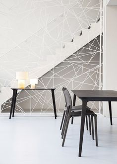 STUA introduces two new options for Jesus Gasca's Lau table-the console for the lobby or service table and the stylish rectangular version. STUA shop in Madrid.