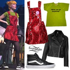 013067037a8558 Image result for hayley williams style Black And White Vans