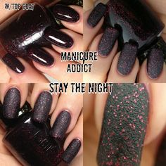 Should I or Should I not... Some liquid sand at Manicure Addict's OPI Mariah Carey Collection Review