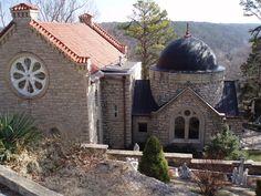 St Elizabeth Catholic Church in  Eureka Springs Arkansas